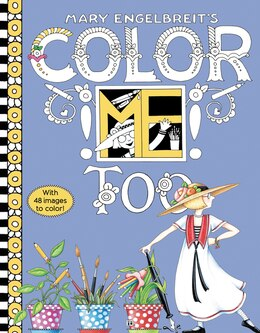 Book Mary Engelbreit's Color ME Too Coloring Book by Mary Engelbreit