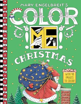 Book Mary Engelbreit's Color ME Christmas Coloring Book by Mary Engelbreit