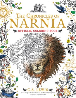 Book The Chronicles of Narnia Official Coloring Book by C. S. Lewis