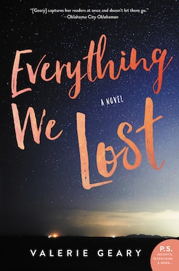 Book Everything We Lost: A Novel by Valerie Geary