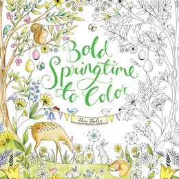 Book Bold Springtime To Color by Eleri Fowler
