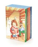 Little House 4-Book Box Set: Little House in the Big Woods, Farmer Boy, Little House on the Prairie…
