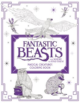 Book Fantastic Beasts and Where to Find Them: Magical Creatures Coloring Book by HarperCollins Publishers