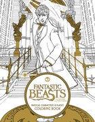 Fantastic Beasts and Where to Find Them: Magical Characters and Places Coloring Book