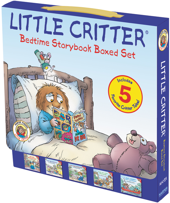 Book Little Critter: Bedtime Storybook Boxed Set: 5 Favorite Critter Tales! by Mercer Mayer