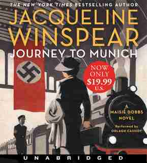 Journey To Munich Low Price Cd: A Maisie Dobbs Novel by Jacqueline Winspear
