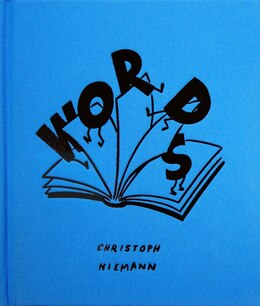 Book Words Limited Edition by Christoph Niemann