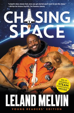 Book Chasing Space Young Readers' Edition by Leland Melvin