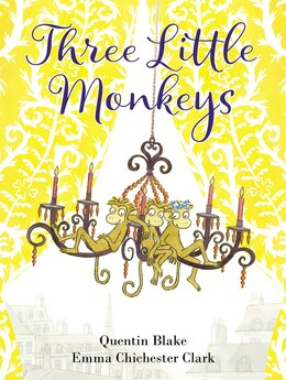 Book Three Little Monkeys by Quentin Blake