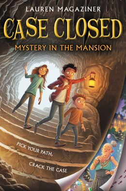 Book Case Closed: Mystery In The Mansion by Lauren Magaziner