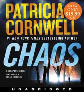 Chaos Low Price Cd: A Scarpetta Novel by Patricia Cornwell