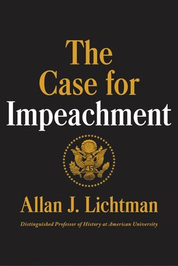 Book The Case For Impeachment by Allan J. Lichtman