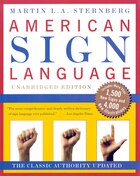 American Sign Language Dictionary Unabridged