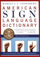 Book American Sign Language Dictionary-Flexi by Martin L. Sternberg