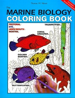 Book The Marine Biology Coloring Book, 2e by Concepts I Coloring Concepts Inc.