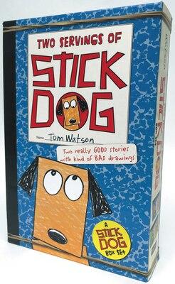 Book Stick Dog 2-book Box Set: Stick Dog And Stick Dog Wants A Hot Dog by Tom Watson