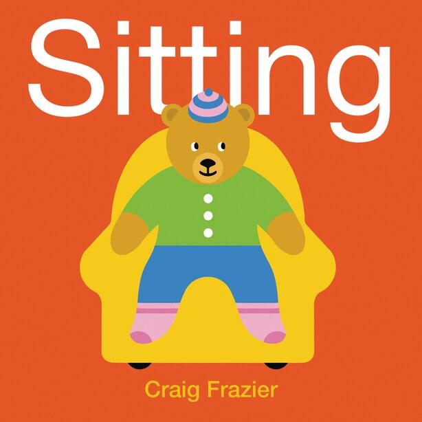 Sitting Board Book by Craig Frazier