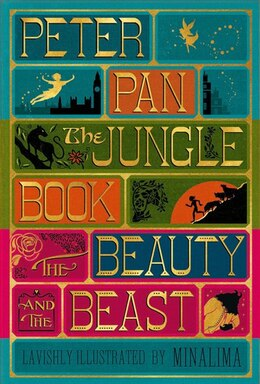 Book Illustrated Classics Boxed Set: Peter Pan, Jungle Book, Beauty And The Beast by J. M. Barrie