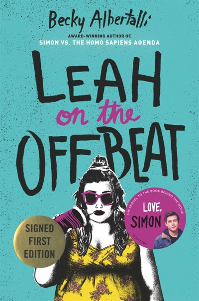 Book Leah On The Offbeat (signed Edition) by Becky Albertalli