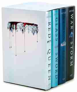 Red Queen 4-book Hardcover Box Set: Books 1-4 by Victoria Aveyard