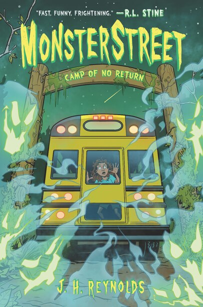 Monsterstreet #4: Camp Of No Return by J. H. Reynolds