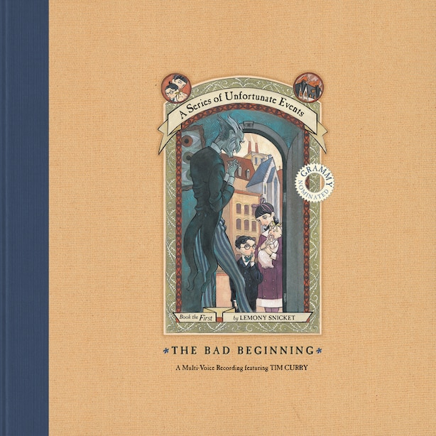 A Series Of Unfortunate Events: The Bad Beginning Vinyl + Mp3 by Lemony Snicket