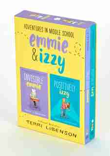 Adventures In Middle School 2-book Box Set: Invisible Emmie And Positively Izzy by Terri Libenson