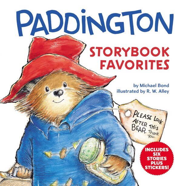 Paddington Storybook Favorites: Includes 6 Stories Plus Stickers! by Michael Bond