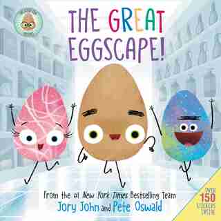 The Good Egg Presents: The Great Eggscape! by JORY JOHN
