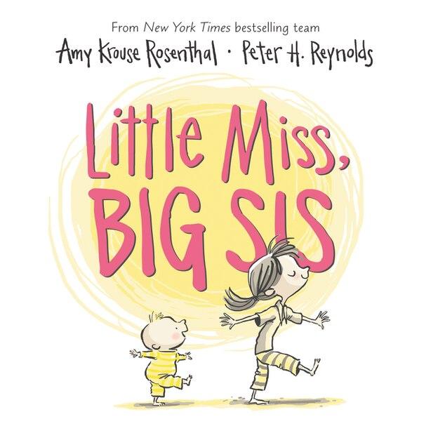 Little Miss, Big Sis Board Book de Amy Krouse Rosenthal