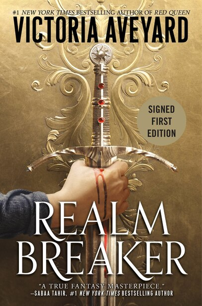 Realm Breaker (Signed Edition) by Victoria Aveyard