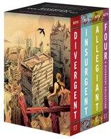 Divergent Anniversary 4-book Box Set: Divergent, Insurgent, Allegiant, Four
