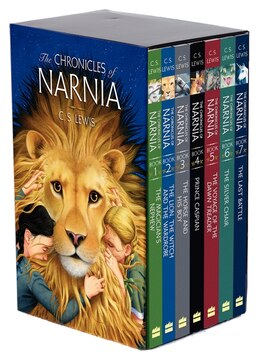 Book The Chronicles Of Narnia Box Set: 7 Books In 1 Box Set by C. S. Lewis
