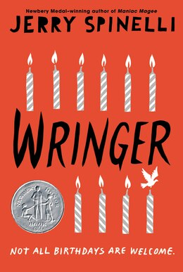 Book Wringer by Jerry Spinelli