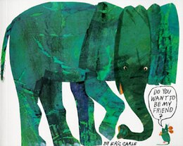 Book Do You Want To Be My Friend? by Eric Carle