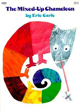 Book The Mixed-up Chameleon by Eric Carle