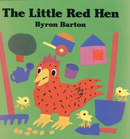 Book Little Red Hen Big Book by Byron Barton