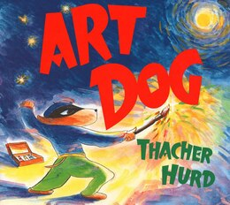 Book Art Dog by Thacher Hurd