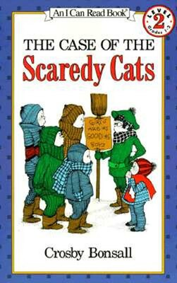 Book The Case Of The Scaredy Cats by Crosby Bonsall