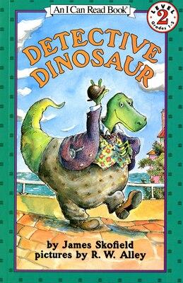 Book Detective Dinosaur by James Skofield
