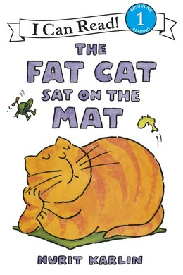 Book The Fat Cat Sat On The Mat by Nurit Karlin