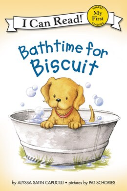 Book Bathtime For Biscuit by Alyssa Satin Capucilli