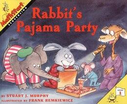 Book Rabbit's Pajama Party by Stuart J. Murphy