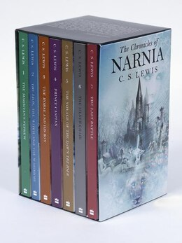 Book The Chronicles of Narnia Rack Box Set (Books 1 to 7) by C. S. Lewis