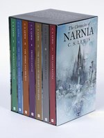 The Chronicles Of Narnia Rack Paperback 7-book Box Set: 7 Books In 1 Box Set