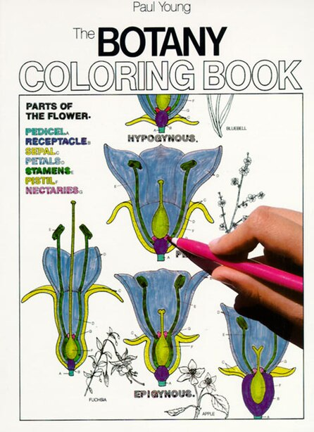 Botany Coloring Book by Paul Young