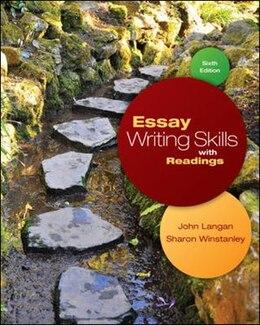 Book Essay Writing Skills with Readings by John Langan