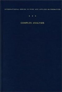 Book Complex Analysis: An Introduction to The Theory of Analytic Functions of One Complex Variable by Lars Ahlfors