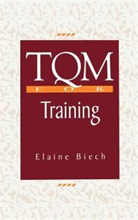 Book TQM for Training by Elaine Biech