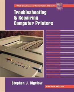 Book Troubleshooting and Repairing Computer Printers by Stephen Bigelow